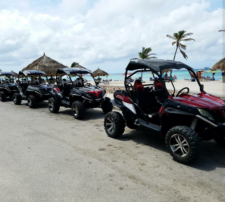 Aruba's best UTV tour