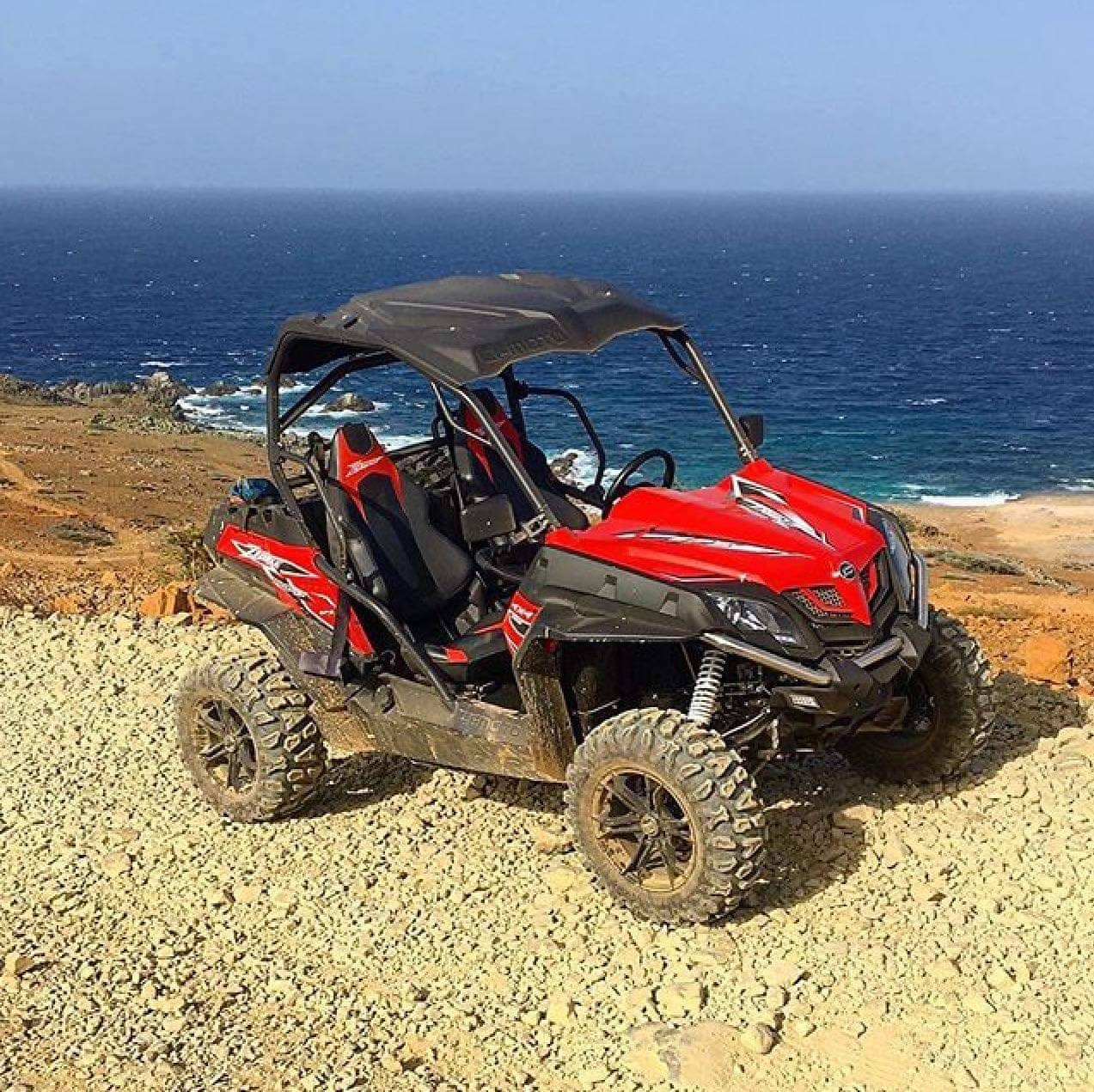 Aruba's best UTV Rental