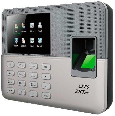 ZK LX50 - CTRL ASISTENCIA USB/ 500 USUARIOS CON HUELLA Y PASSWORD/ ADMINISTRACIO