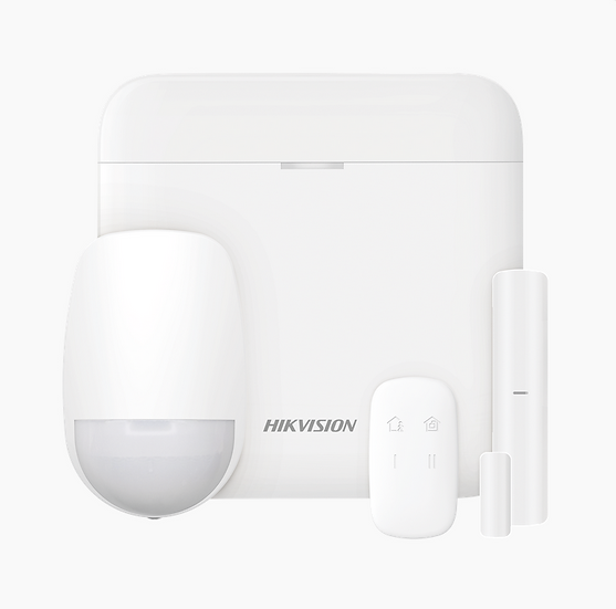 AlarmaInalámbrica WIFI Hikvision  Incluye: 1 Hub / 1 Sensor PIR / 1 Contacto Mag