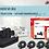 Thumbnail: Kit de 4 cámaras Dahua de 1 mp CX