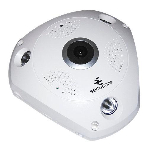 Cámara IP Fish Eye de 360º/SD/Audio de 2 vías
