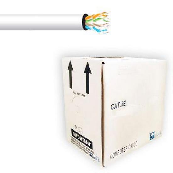 Cable UTP 5E Blanco para Interior 305m