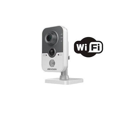 Cámara IP Hikvision Cubo IP 1MP /WIFI / 10m IR / Sensor PIR /Soporta M