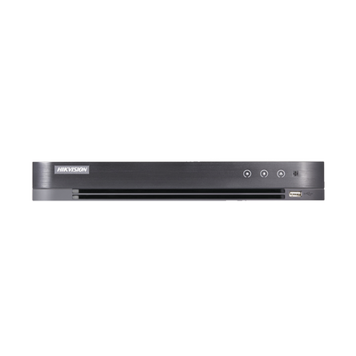 DVR HIKVISION 3 Megapixel / 8 Canales TURBOHD + 2 Canales IP / 1 Bahía de DiscoD