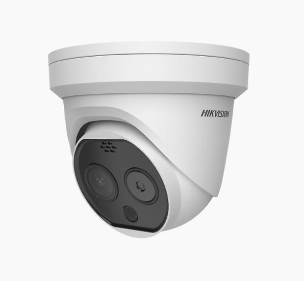 Cámara Hikvision detección temperatura TURRET IP