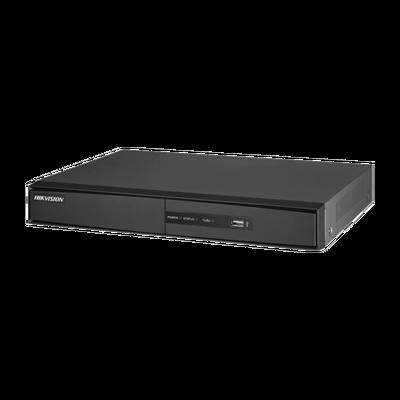 DVR HIKVISION 2 Megapixel / 8 Canales TURBOHD + 2 Canales IP / 1 Bahía de DiscO