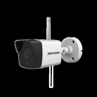 Mini Bala IP Hikvision 2 Megapixel /30 mts IR EXIR / Exterior IP66 / dWDR / Lent