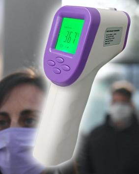 Termómetro digital infrarrojo para detección de temperatura