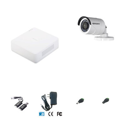 Kit de DVR con 1 cámara marca Epcom