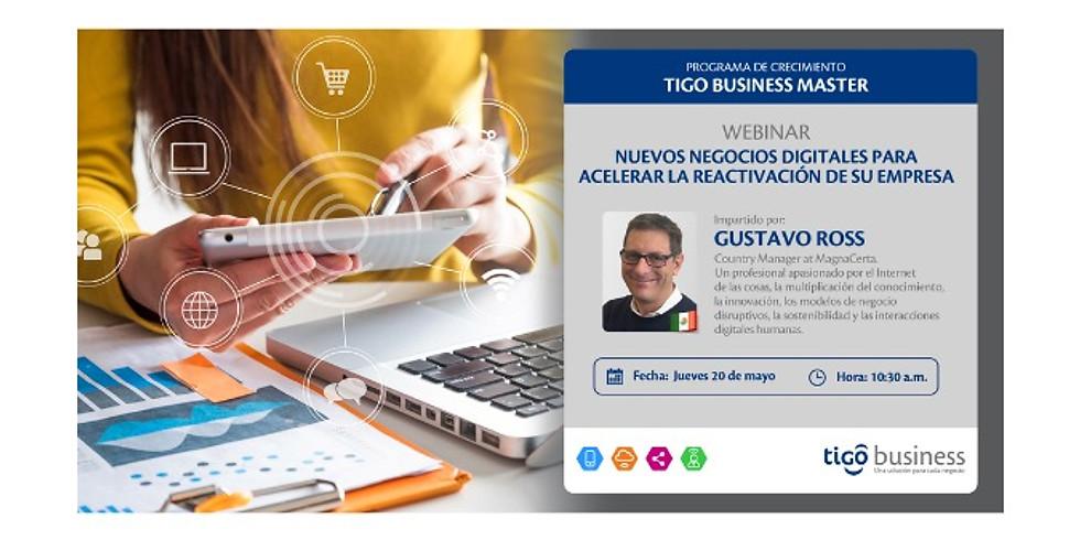 Nuevos negocios digitales para acelerar la reactivación de su empresa.
