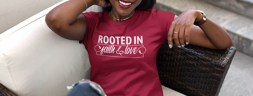 Rooted in Faith & Love Short-Sleeve
