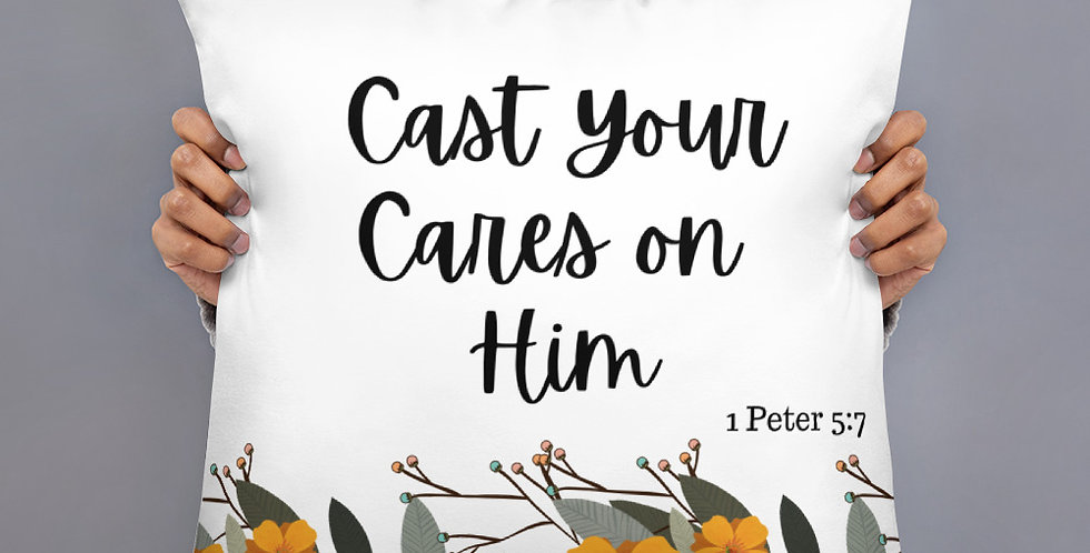 Cast you cares on Him