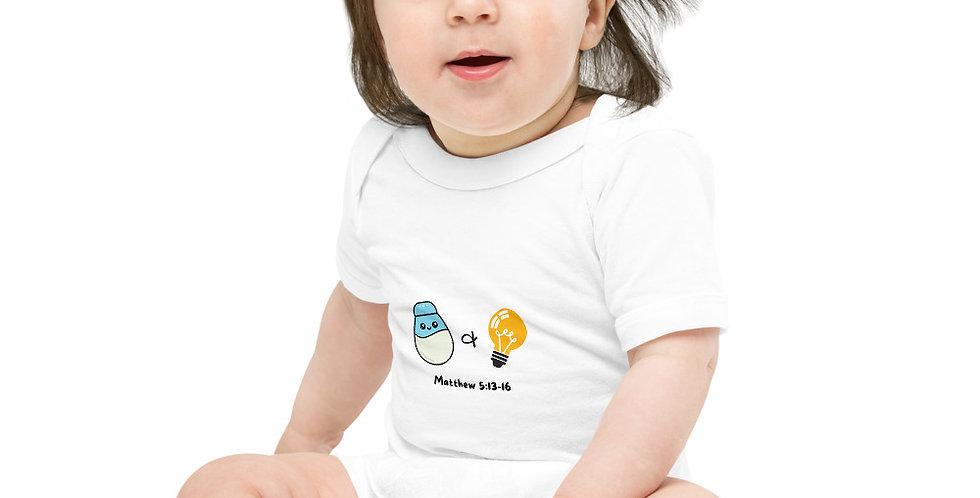 Salt & Light - Baby short sleeve one piece