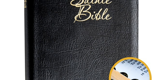 Bible Louis Segond 1910 Gros Caracteres cuir onglets