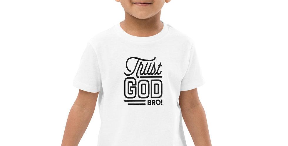 Trust God -Organic cotton kids t-shirt