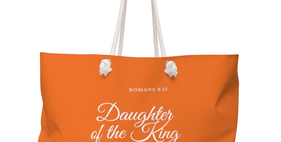 Daughter of the King- Weekender bag Burnt Orange