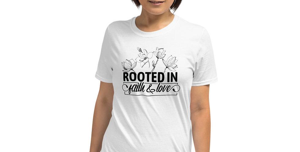 Rooted in faith Short-Sleeve Unisex T-Shirt