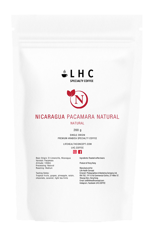 Nicaragua Pacamara Natural