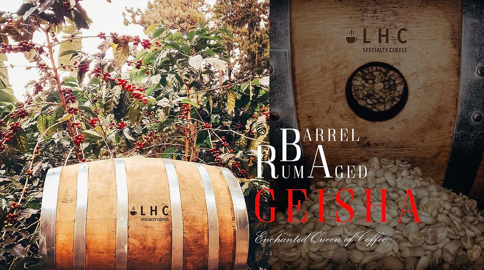 LHC COFFEE Rum Barrel Aged Geisha