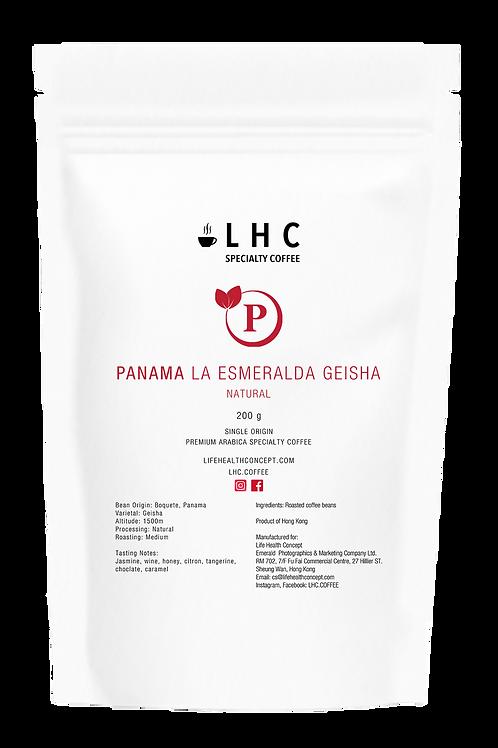 Panama La Esmeralda Geisha Natural