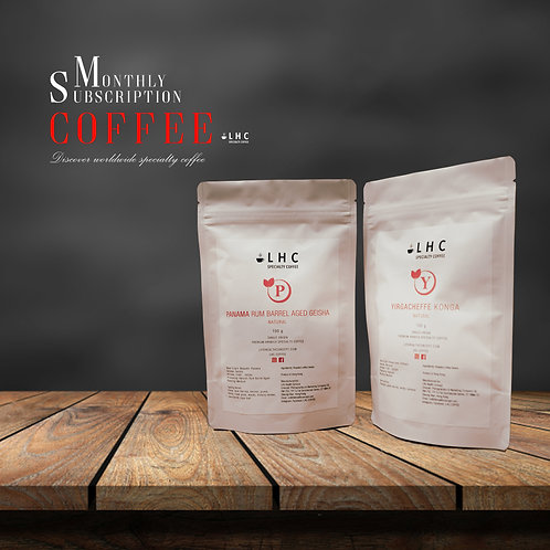 Coffee Subscription Plan - Explorer (As low as HK$168/month)