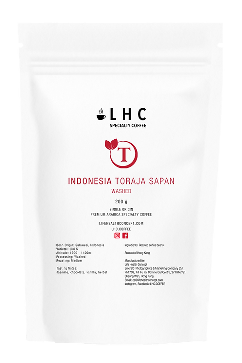 Indonesia Toraja Sapan Washed