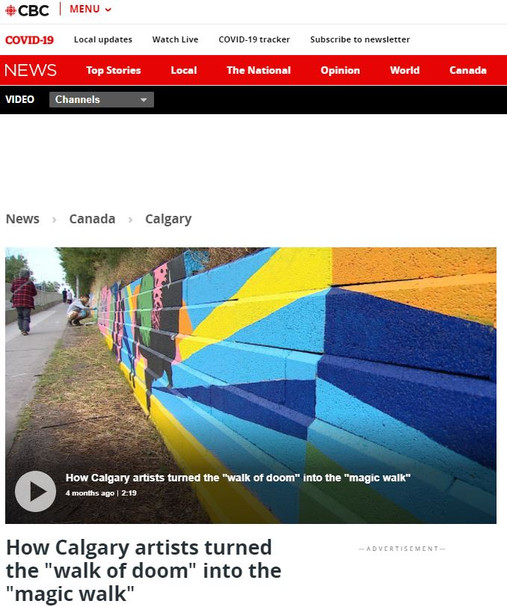 Magic Walk on CBC News