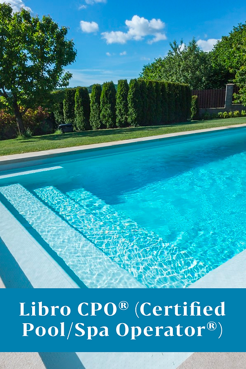 Libro CPO® (Certified Pool/Spa Operator®)