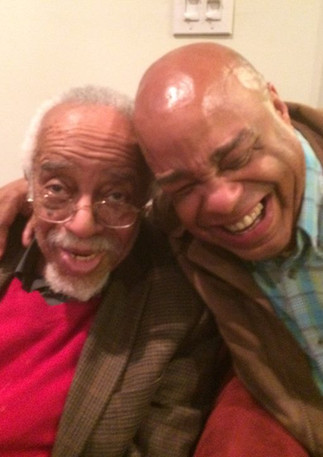 Dr. Barry Harris and Frank Senior