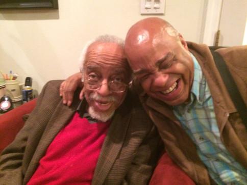 Dr. Barry Harris and Frank Senior