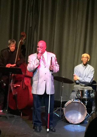 Frank and trio at the Nuyorican Poets Ca