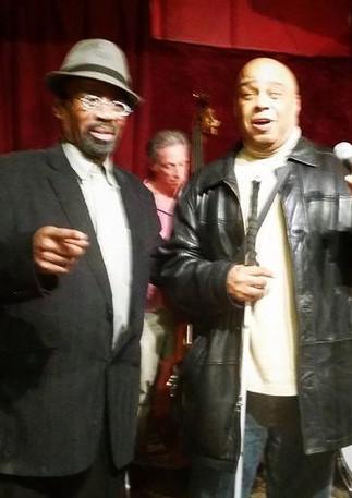 Johnny O'Neal and Frank Senior