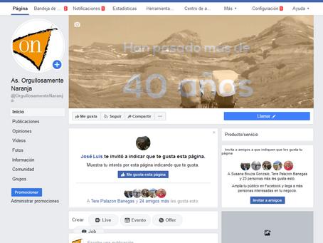 También estamos en Facebook