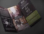 4 panel brochure for condo