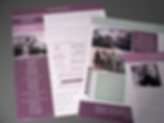 Cutsheets or Inserts for Business