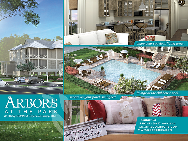 Tri Fold Brochure for Apartments