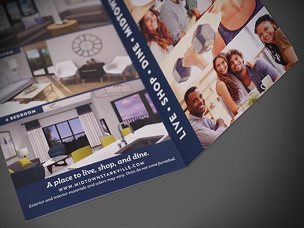 Inside of Bi-Fold Brochure