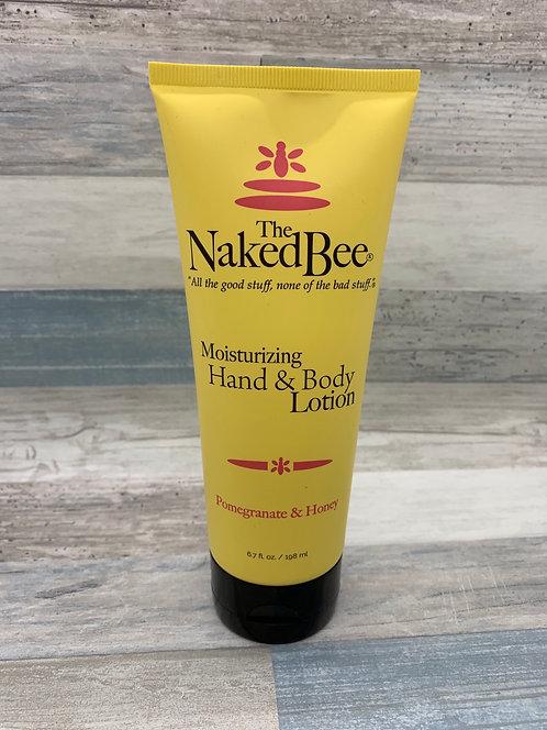 The Naked Bee - Pomegranate & Honey Moisturizing Hand & Body Lotion