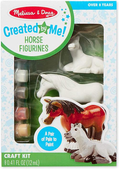 Melissa & Doug Created by Me Horse Figurines