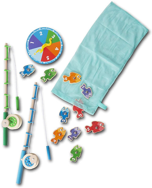 Melissa & Doug Catch and Count Magnetic Fishing Game