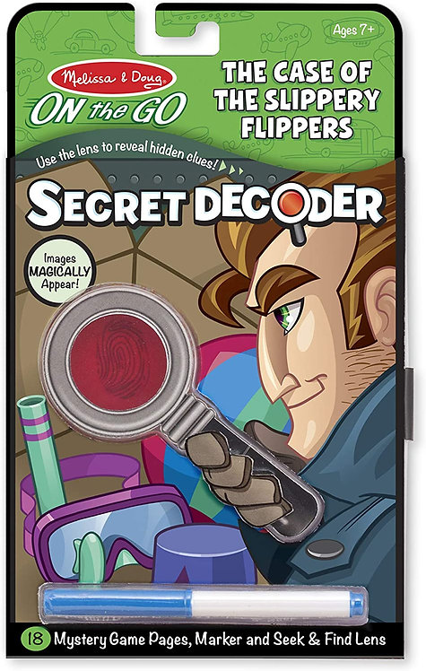 Melissa & Doug On the Go Secret Decoder