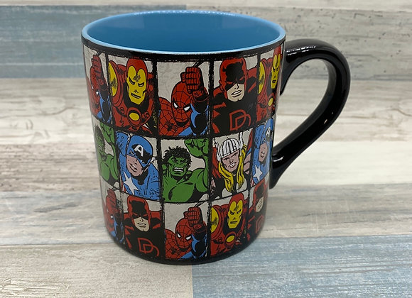 Marvel Comics Grid 14 oz Ceramic Mug