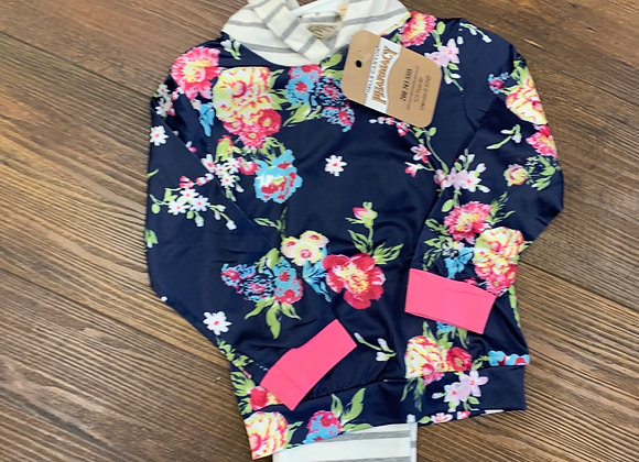 Flowers & Strips Outfit