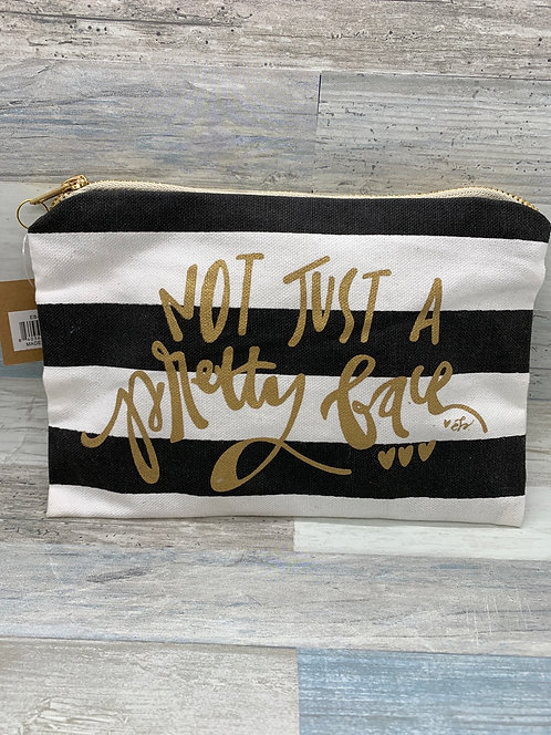 Not Just A Pretty Face Canvas Bag
