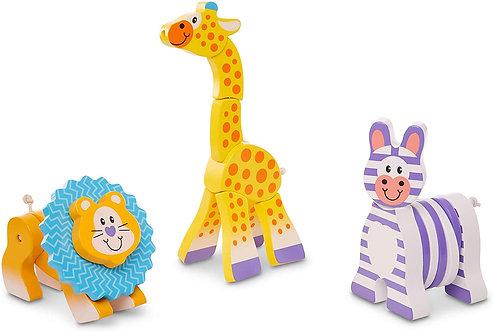 Melissa & Doug Safari Animal Grasping Toys