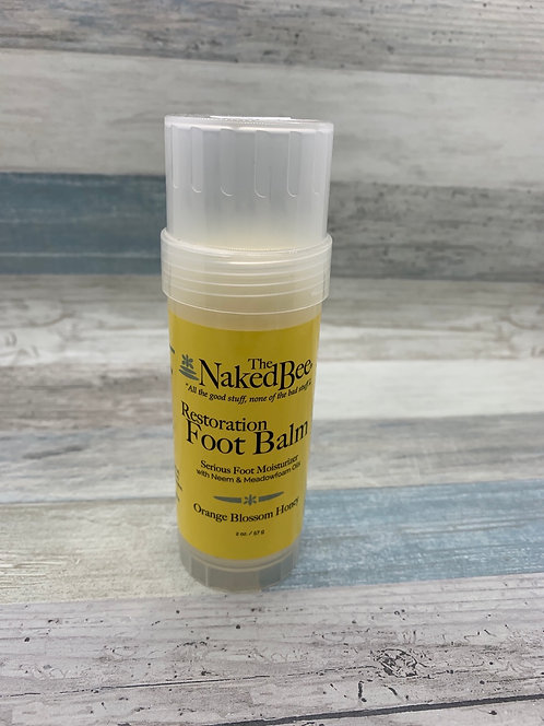 The Naked Bee - Restoration Foot Balm