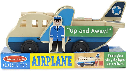 Melissa & Doug Classic Toy Airplane