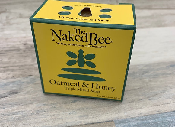 The Naked Bee - Oatmeal & Honey Milled Soap