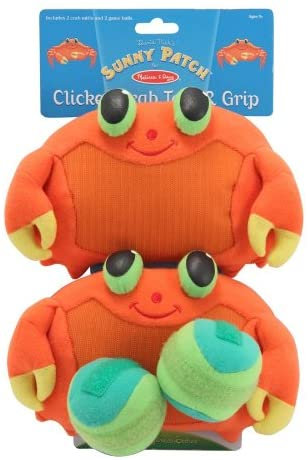 Melissa & Doug Clicker Crab Toss and Grip